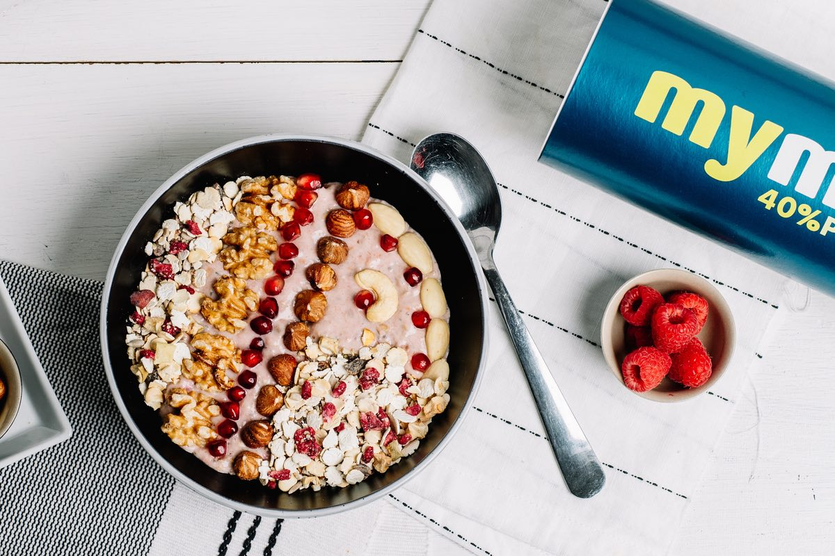 smoothie bowl Müsli mymuesli