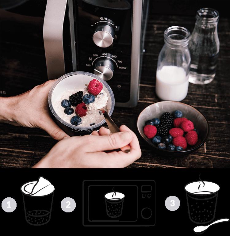 Porridge Zubereitung Mymuesli