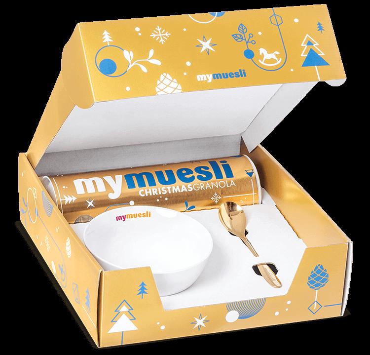 Geschenksets zu Weihnachten | mymuesli ®
