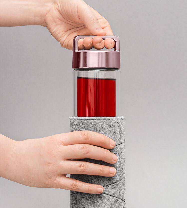 Perfekt gemacht für die 2go Bottle