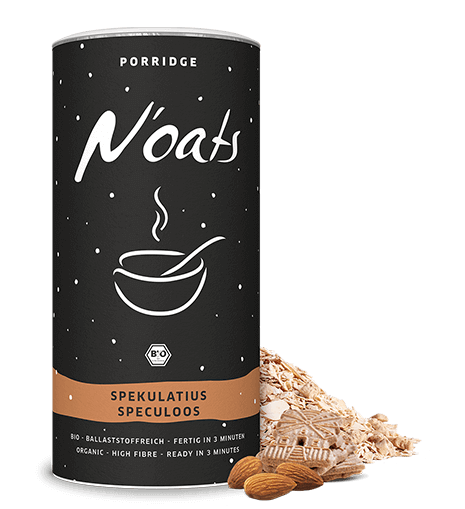Noats porridge spekulatius mymuesli for Porte zen fiber