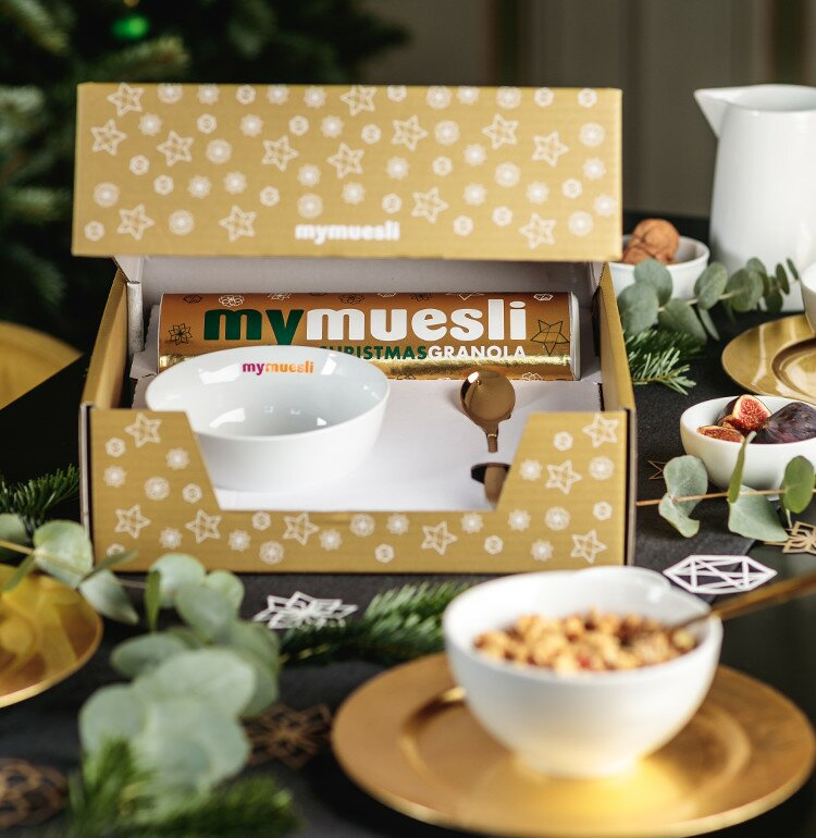 individuelle weihnachtsgeschenke von mymuesli. Black Bedroom Furniture Sets. Home Design Ideas