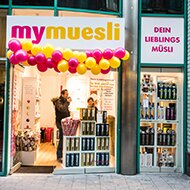 mymuesli Laden Hamburg City