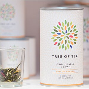Tree of Tea im Laden München OEZ.