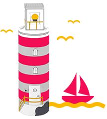 Basteln mit kindern kreative ideen f r die mymuesli dose for Leuchtturm basteln